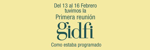 Primera Reunión del GIDFI.